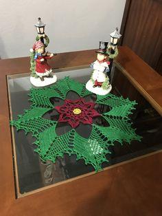 colorful handmade Christmas tree crochet doily, deco … – Do it yourself Crochet Christmas Trees, Handmade Christmas Tree, Christmas Table Cloth, Christmas Crochet Patterns, Christmas Knitting, Christmas Crafts, Christmas Decorations, Crochet Bedspread, Crochet Quilt