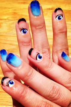 Fall Nail Art Trends - Nail Art Ideas for Fall 2013