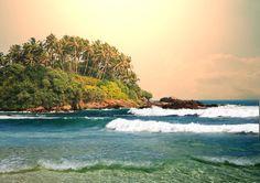 Paradise - a beach on Sri Lanka