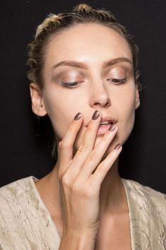 The 11 Best Runway Nail Looks from Spring 2015  - HarpersBAZAAR.com