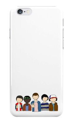 Our Stranger Things Cartoon Characters Phone Case is available online now for just £5.99. Fan of Stranger Things? You'll love our Stranger Things Cartoon Characters phone case, available for iPhone, iPod & Samsung models. Material: Plastic, Production Method: Printed, Authenticity: Unofficial, Weight: 28g, Thickness: 12mm, Colour Sides: White, Compatible With: iPhone 4/4s | iPhone 5/5s/SE | iPhone 5c | iPhone 6/6s | iPhone 7 | iPod 4th/5th Generation | Galaxy S4 | Galaxy S5 | Galaxy S6