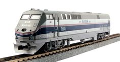 Kato HO 376107-ST GE P42 Genesis, Amtrak Phase IV (40th Anniversary Scheme) #184 (Kobo Special With SoundTraxx Tsunmai) | ModelTrainStuff.com