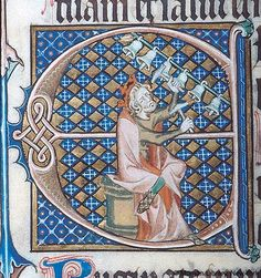 - Images from Medieval and Renaissance Manuscripts - The Morgan Library & Museum Renaissance Music, Medieval Music, Medieval Art, Illuminated Letters, Illuminated Manuscript, Medieval Pattern, Statues, Illumination Art, Viking Art