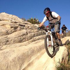 @the4color and @morga_deth riding Stairsteps trail. #mtb #mountainbike Mountain biking.