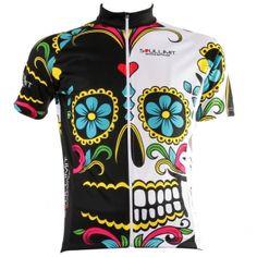 Maglia da ciclismo estiva con grafica Mexican Skull by Soullimit