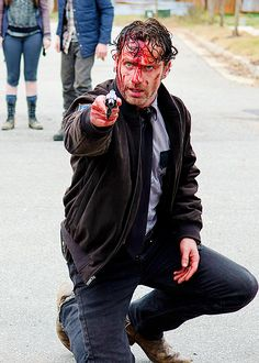 """Rick Grimes 5x15 """"Try"""""""