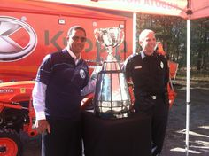 Great seeing with the today. Seen here with one of heroes Grey Cup, Fictional Characters, Fantasy Characters