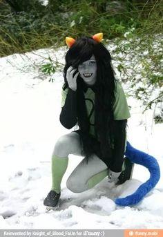 Meulin cosplayer