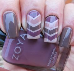 It's all about the polish: Zoya Neutrals Nail Design