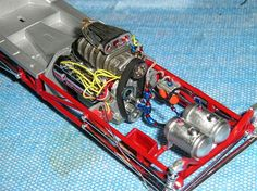 I am working on the polar lights Mr. Norms Ghost Charger. I have wired the engine with a pre-wired distributor, but can not find any reference photos on how...