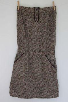 La fille qui rêvait d'avoir sa robe bustier en liberty !!!!