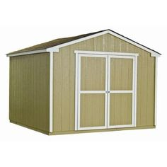 Princeton 10 ft. x 10 ft. Wood Storage Shed