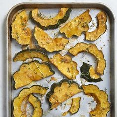 "Parmesan Roasted Acorn Squash I ""This came out so good! My two toddlers and husband devoured it."""