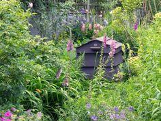 Compost Bin in Small Garden