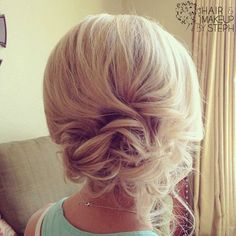 Messy Updos for Short Hair