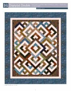 Details about Diamond Double Pixie Party 16 Batik PRECUT Fabric ... : diamond double quilt pattern - Adamdwight.com