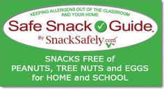 Interactive list of allergy-friendly products to help keep allergens out of the classroom and the home.  Click to download your copy Already know about the Guide? Click the button on the right to download the latest copy. First time here? Please read on.  The Safe Snack Guideis a catalog of c