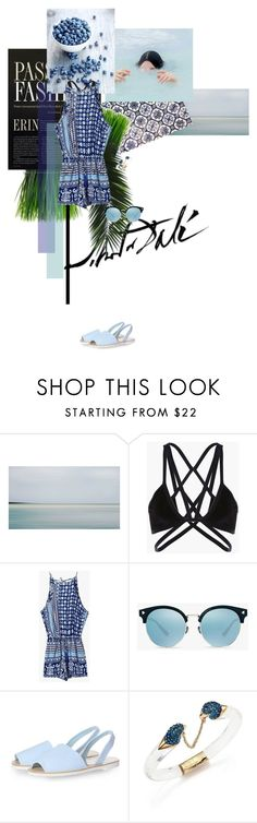 """""""postcard from far away"""" by dear-inge on Polyvore featuring Emilio Robba, Salvador Dali, Glamorous, Alexis Bittar and Genuine_People"""