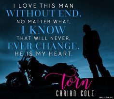 Torn- Carian Cole (top fave) <3 <3
