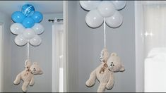 Diy Teddy Bear, Teddy Bear Party, Teddy Bear Birthday, Baby Birthday, Baby Girl Shower Themes, Girl Baby Shower Decorations, Balloon Decorations, Balloon Garland, Baby Shower Oso