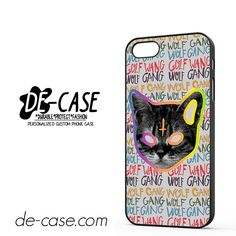 OFWGKTA Golf Wang Wolf Gang The Creator Odd Future Crew Tyler Earl DEAL-8124 Apple Phonecase Cover For Iphone SE Case