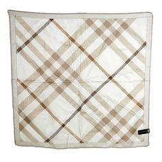 80103f77e01f Burberry Novacheck Silk Twill Square Scarf Japan Limited Edition