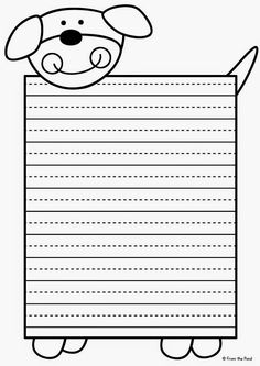 Frog Spot: Alphabet Writing Pages Writing Worksheets, Writing Lessons, Writing Process, Writing Activities, Write My Paper, Printable Lined Paper, Phonics Programs, Learn Arabic Alphabet, Page Borders Design