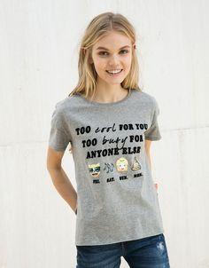 Camisetas - NEW COLLECTION - MUJER - Bershka España