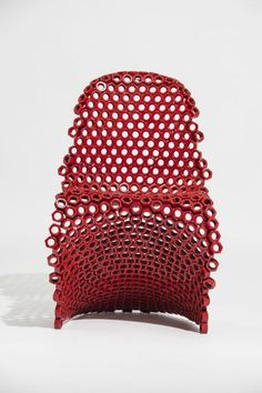Chair made of nuts | by Leo Capote
