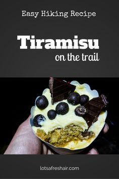 Tiramisu Recipe Hiking
