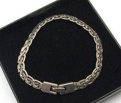 Silberarmband Länge 18 cm Armband Silber 925 SA124 von Schmuckbaron
