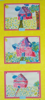 The Art Classroom: Primary Pointillism  Pointillism for young ages