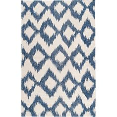 can't get enough blue ikat.