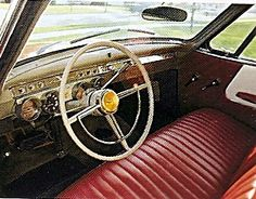 1953 Studebaker interior