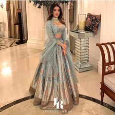 Celebrity stylist Sanjana Batra shows us how to lehengas in different silhouettes and fabrics . Banarsi to velvet check out all the looks…