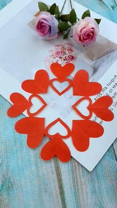 Paper Folding Crafts, Paper Flowers Craft, Paper Crafts Origami, Paper Crafts For Kids, Origami Art, Flower Crafts, Diy Paper, Fun Crafts, Paper Cutting Patterns