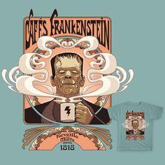 Cafés Frankenstein on Threadless