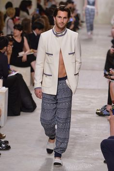 Men's style. Chanel Resort 2014 #menswear #men #fashion
