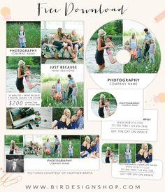 July freebie - Mini marketing set – Birdesign