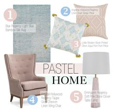 """Pastel Home Decor"" by kathykuohome ❤ liked on Polyvore featuring interior, interiors, interior design, home, home decor, interior decorating, pastel, homedecor and pastelhomedecor"