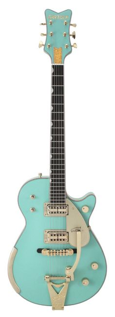 GRETSCH Masterbuilt Seafoam Green Penguin Custom Shop | Rainbow