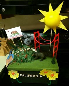California State Project / California Shoe Box Project / Fifth Grade Project