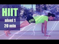 HIIT ejercicios para PRINCIPIANTES nivel 1 - 20 min | Elena Malova