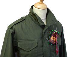 Field Jacket ALPHA INDUSTRIES Mod Military Coat