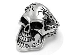 US$ 2.42 Wholesale Stainless Steel Biker Skull Jewelry for Men