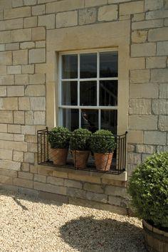 Metal Trellis Panels, Wooden Window Boxes, Iron Gate Design, Flower Window, Backyard, Patio, Provence France, Outdoor Living, Outdoor Decor
