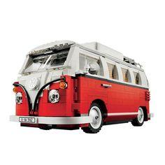 NEW HOT  series the T1 Camper Van Model Building Blocks Compatible Classic