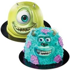 Monsters Inc Cake Decoration Kits (Each), make it with the pampered chef batter bowl!