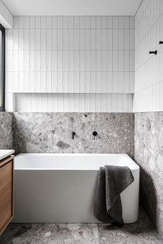 Downstairs Bathroom, Bathroom Renos, Laundry In Bathroom, Master Bathroom, Washroom, Bathroom Renovations, Bathroom Design Luxury, Modern Bathroom, Small Bathroom