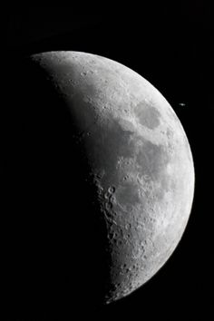 Saturn very close to the Moon by Alex Conu - May 22nd 2007; Bucharest, Romania